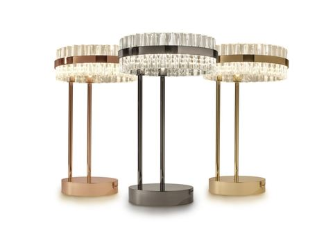 replica Saturno LED table lamp by Baroncelli