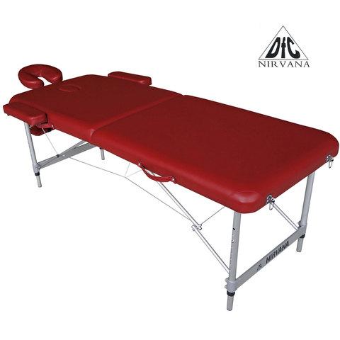 Массажный стол DFC NIRVANA Elegant Luxe (Red)