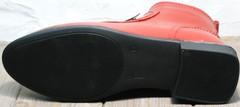 Ботильоны с широким каблуком осень весна Evromoda 1481547 S.A.-Red