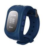 Детские часы с GPS трекером Smart Baby Watch Q50 (Синий)
