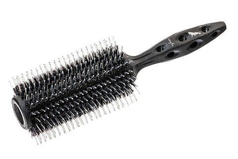 Брашинг Y.S.Park Tiger Brush 650 Black Carbon 67 мм с натуральной щетиной