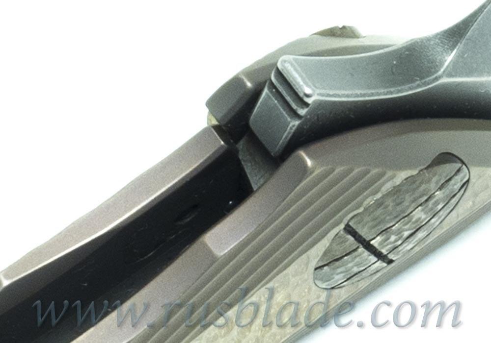 CKF Custom Rabbit & Alice Knife (Alexey Konygin design, s35vn, titanium, bearings)