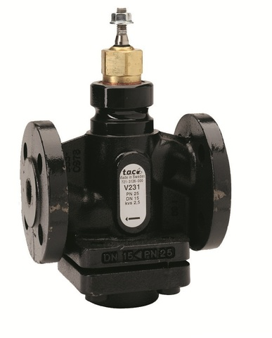 Клапан 2-ходовой фланцевый Schneider Electric V231-15-1,0