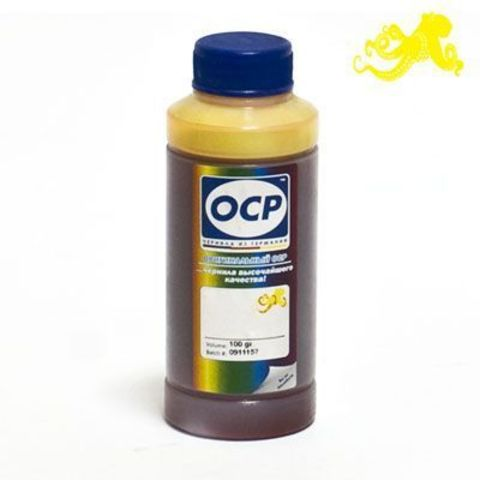Чернила OCP Y 61 Yellow для Epson R200/R220/R300/R320/R340/RX500/RX600, 100 мл