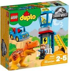 DUPLO Jurassic World Башня ТиРекса