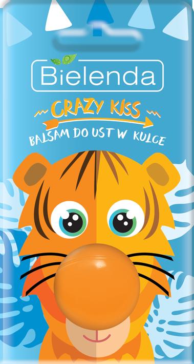 CRAZY KISS бальзам для губ BALL Tiger,