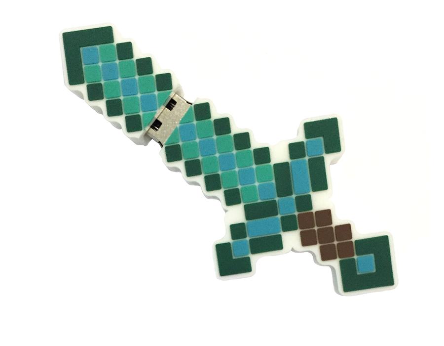 usb-флешка меч майнкрафт