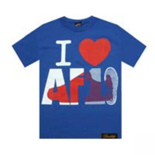 I Love air force синяя фото 1