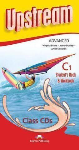 Upstream Advanced C1. Student's Book & Workbook Class CDs (set of 8) (3rd edition). Аудио CD для работы в классе
