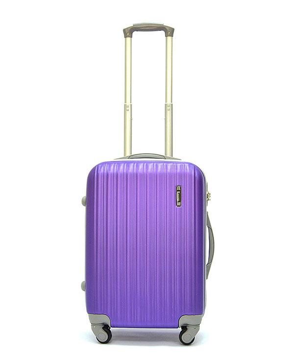 Чемодан Ananda APL-833 Фиолетовый Ручная кладь (S)