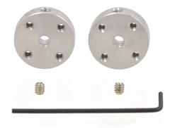 Втулки на вал мотора (⌀ 3 мм, пара)
