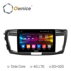 Штатная магнитола на Android 6.0 для Honda Accord 12-15 Ownice C500+ S1642P