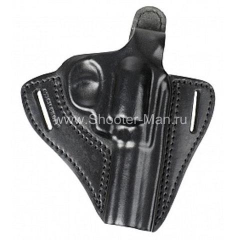 Кобура кожаная для револьвера Гроза Р-04 ( модель № 2 ) Стич Профи