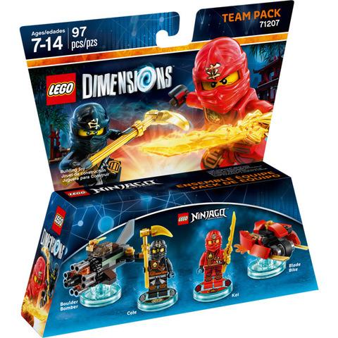 LEGO Dimensions: Team Pack: Ниндзяго 71207 — Ninjago — Лего Измерения