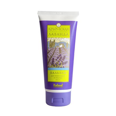 Крымская Лаванда Бальзам натуральный для нормальных и жирных волос, 200г