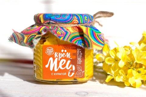 С курагой Крем-мёд, 300 гр