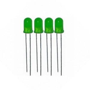 Светодиоды 5 мм (4шт) зеленый