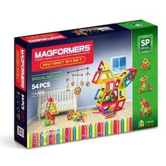 MAGFORMERS Магнитный конструктор Мой первый Магформерс 54 (63108)