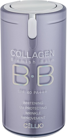CELLIO COLLAGEN BLEMISH BALM ББ крем №21 40мл (*144)