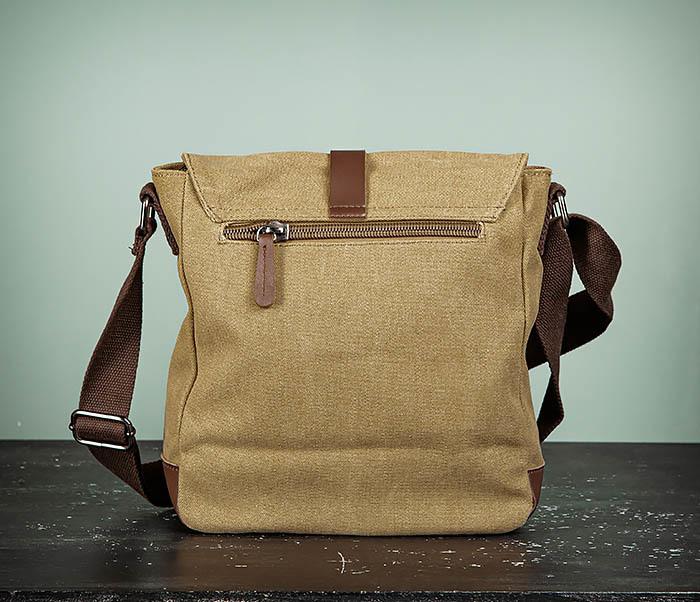 BAG503-2 Мужская сумка планшет из плотной ткани фото 07
