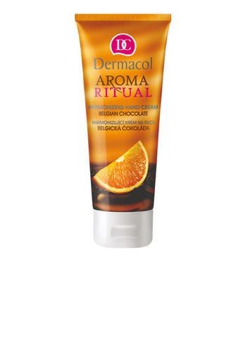 Dermacol Aroma Ritual Hand Cream Belgian Chocolate Регенерирующий крем для рук с витамином E и апельсиновым маслом, 100мл