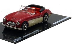 Austin Healey 3000 Roadster 1959 red-creme Vitesse 1:43