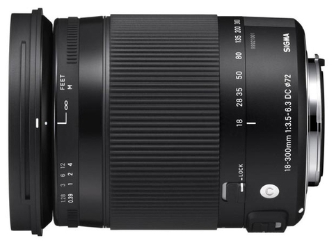 Sigma 18-300mm f/3.5-6.3 DC Macro OS HSM Contemporary Canon EF