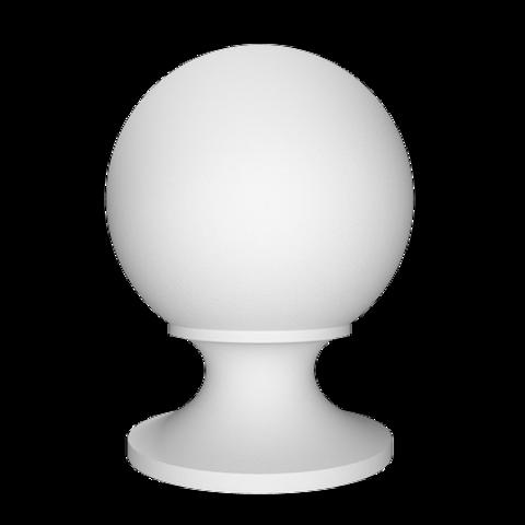 Крышка (шар/балюстрада) Европласт из полиуретана 4.77.101, интернет магазин Волео