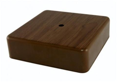 Коробка распаячная КР 100х100х29 ОП бук, с клем. колодкой, IP40, инд. штрихкод TDM