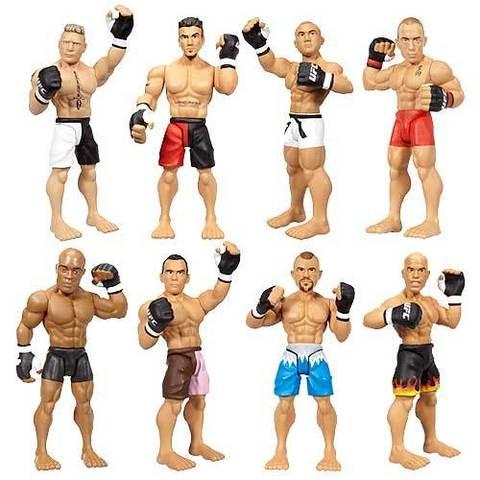 UFC Micro Figure Two-Packs Series 01