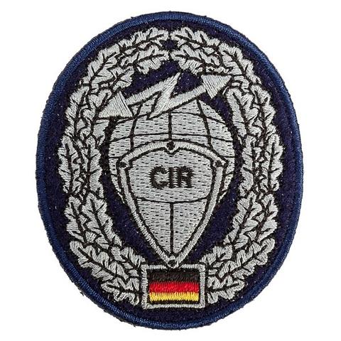 Abzeichen BW Barett Cyber- und Informationsraum CIR Textil