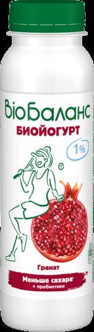 """Биойогурт """"Био-Баланс"""" гранат 1% 270 г"""