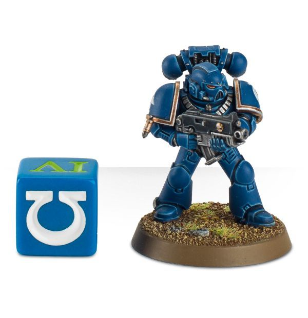 Ultramarines Dice