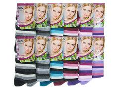 NO-B905-1 носки женские 36-41, (12шт) цветные