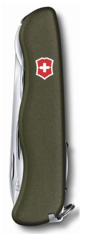 Нож Victorinox Forester, 111 мм, 12 функций, зеленый