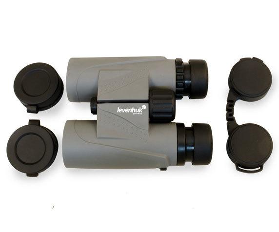 Бинокль Levenhuk Karma Plus 8x32 с защитными крышками окуляров и объективов