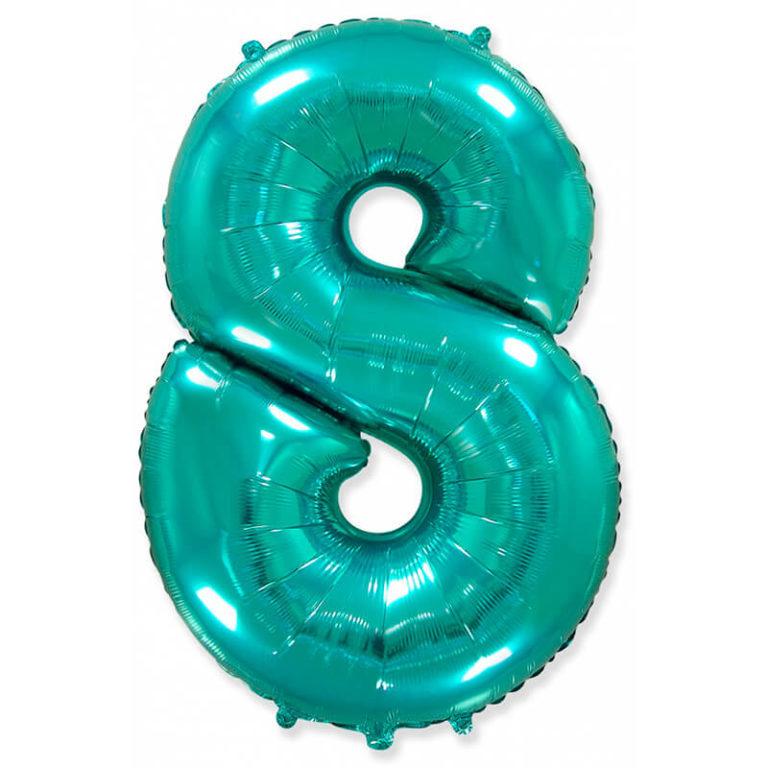 Фольгированные шарики в виде цифр Шар цифра 8 Тиффани folgirovannyj-shar-cifra-8-tiffani-768x768.jpg