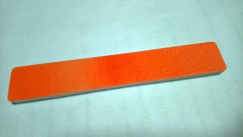 Пилка полировка широкая оранжевая (1шт.)