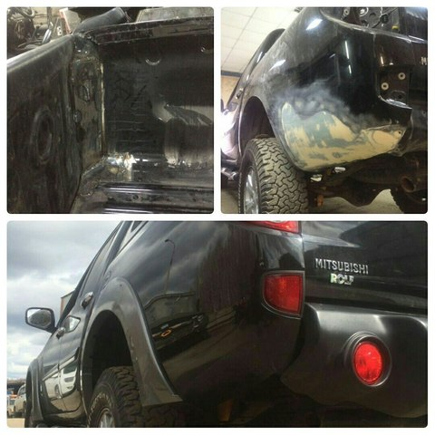 Кузовной ремонт l200