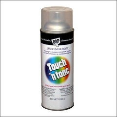Лак-аэрозоль уретановый DAP Touch n Tone глянцевцый (серый)