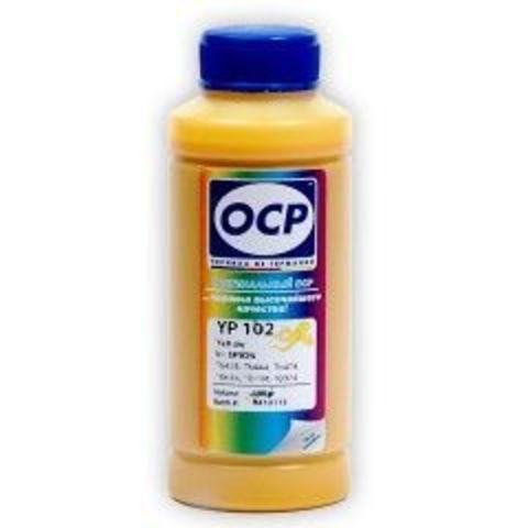Чернила OCP YP102 Yellow для картриджей Epson T0924, T0734, T0634, T0474, T0444, T0424, 100 мл