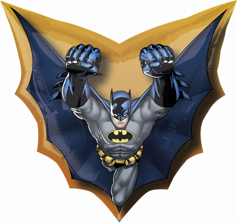 Бетмен и Супермен Фольгированный шар Бэтмен летящий 71enoaf5sl._sl1500_.jpg
