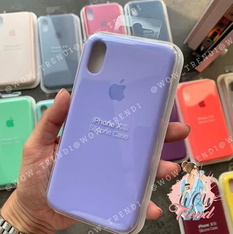 Чехол iPhone 6/6S Silicone Case Full /glycine/ гортензия