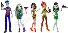 Набор из 5 кукол Monster High Студенческий совет - Student Disembody Council