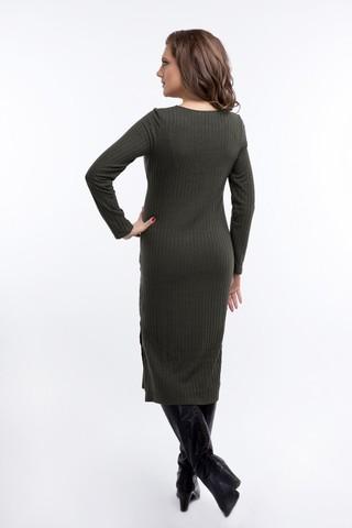 Платье 08921 зеленый