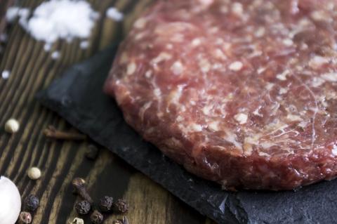 Сочный бифштекс для гамбургера