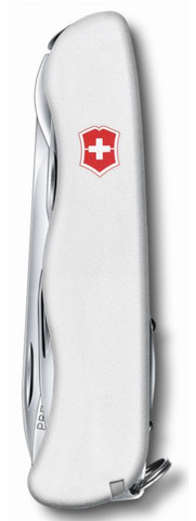 Нож Victorinox Forester, 111 мм, 12 функций, белый