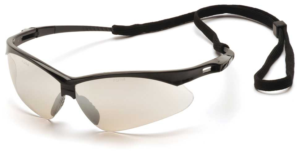Очки баллистические стрелковые Pyramex PMXTREME SB6380SP зеркально-серые 50%