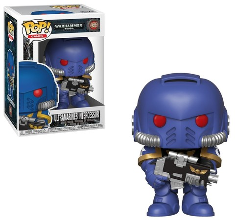 FUNKO POP! Vinyl: Games: Warhammer 40K: Ultramarines Intercessor 38324