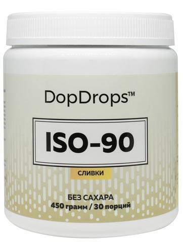 ISO-90, 450гр 30 порций Изолят Сывороточного Белка DopDrops